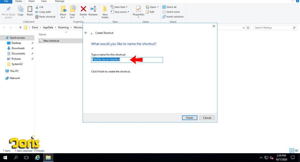 اجرای خودکار فایل پس از ریبوت